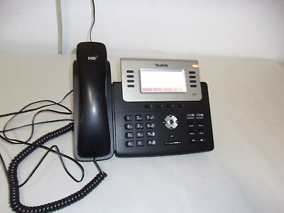 Yealink Sip-T27P 6-Line Hd Ip Phone With Power Supply   Reset