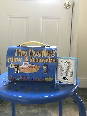 The Yellow Submarine Vintage Lunch Box