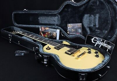 Epiphone Les Paul Custom Blackback 2012 Ltd Custom Shop V Rare Nos V1 Save $650!