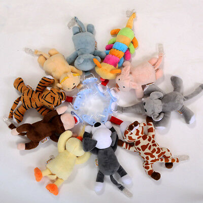 Baby Plush Toy Dummy Pacifier Clip Girl Boy Animal Toys Soother Nipples Holder