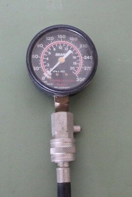 Sears Gas Engine Compression Tester 0-300 PSI LT1 LS1 MADE IN USA