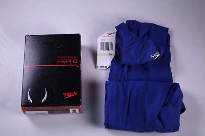 Speedo Fastskin FS-Pro Recordbreaker Kneeskin Female Size 30 Navy, New
