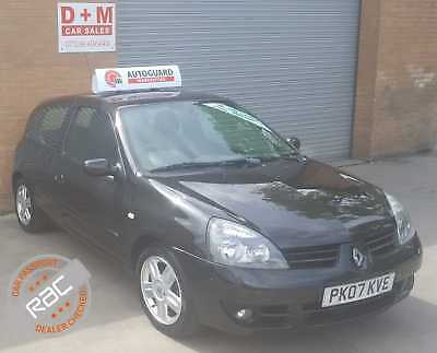 07 Renault Clio 1.2 Campus 3Dr 90000 Miles Long Mot 6 Months Warranty Included