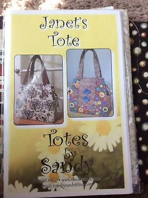 Janets's Tote Fabric Pack With Pattern