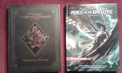 Dungeons and Dragons Princes of the Apocalypse Avanced Dungeons and Dragons Mons