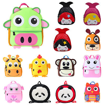 Animal Baby Kids Backpack Cartoon Travel Shoulder Bags Small School Backpacks