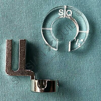 Ruler foot for domestic sewing machine - High Shank