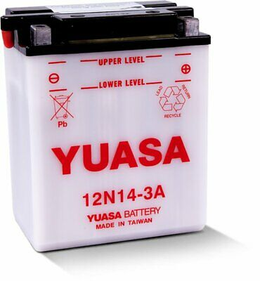 Yuasa Conventional Lead-Acid 12V 14Ah Battery 168Wh