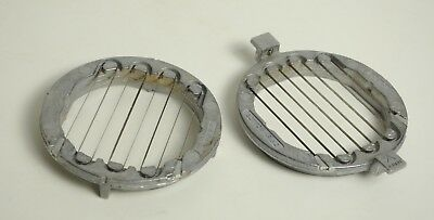 2 Vintage Veg-O-Matic Replacement Slicer Cutter Blades Top Bottom-707 Vegomatic