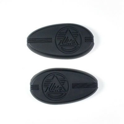 """Knee grips Ural 2014-up (pair fuel tank pads with logo """"IMZ"""")"""