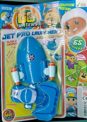 Cbeebies Go Jetters Magazine #27 - July 2018 With Gifts ~ New ~