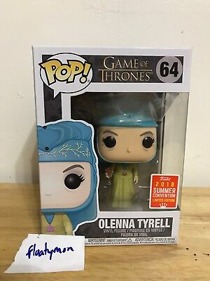 Funko Pop! Olenna Tyrell #64 BoxLunch Exclusive 2018 SDCC Game of Thrones GOT