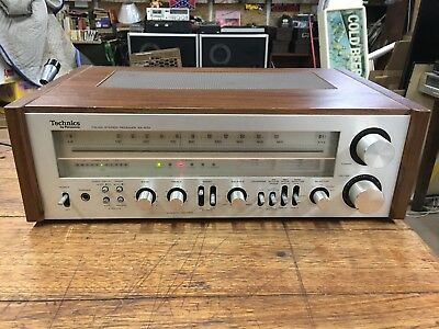 Vintage Technics SA-600 AM FM Stereo Receiver Tested And Works Phono Input