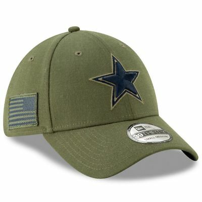 2047c6b6bf0 Dallas Cowboys 2018 Nfl New Era 39Thirty Salute To Service Sideline Hat Cap  S m