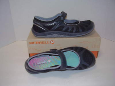 New Merrell Crush Glove Mary Jane Athletic Shoes Black Sz 9