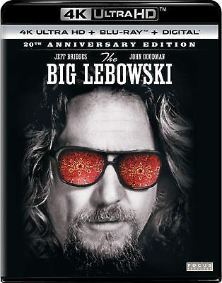 THE BIG LEBOWSKI 20th ANNIVERSARY EDITION BRAND NEW SEALED 4K ULTRA HD BLURAY