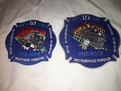 Charlotte North Carolina Fire Patch Rescue 10 Lot Of Patches Large And Small
