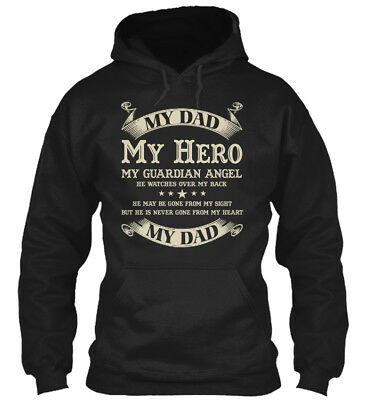 Trendsetting Dad My Hero Guardian Angel Gildan Hoodie Gildan Hoodie Sweatshirt