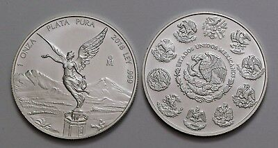 2018 Silver Mexican Libertad Onza 1 oz BU              VOLUME DISCOUNTS OFFERED