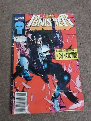 Marvel Comics The Punisher Vol.2 #51 August 1991