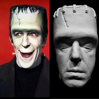 Fred Gwynne Life Mask Cast as Herman Munster The Munsters Great Detail !!!