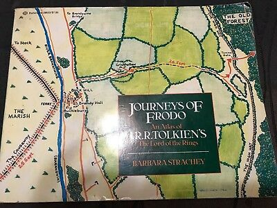 Journeys of Frodo An Atlas of J.R.R. Tolkien's The Lord of the Rings 1st