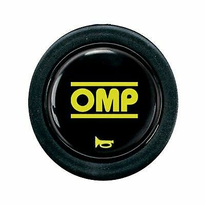 OMP Steering Wheel Horn Button fits most Black/Yellow (OD/1960)