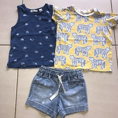 Country Road Seed Baby Bout Outfit Bundle Sizes 0-1