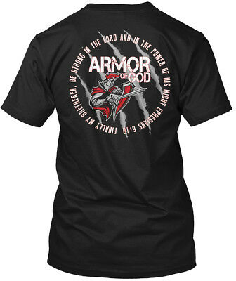 Trendsetting Put On The Whole Armor Of God Hanes Hanes Tagless Tee T-Shirt
