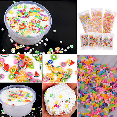 88Pack Slimes Supplies Kit For DIY Slime Beads Charms Tool Sliming Making Tool
