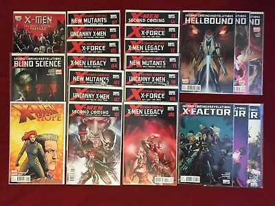 X-Men: Second Coming Complete Full Set + Tie-Ins! ~ VF-NM