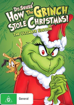 How The Grinch Stole Christmas! : Ultimate Edition (DVD, 2018) (Region 4) New