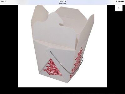 50/16 oz chinese take out boxes wired!!!