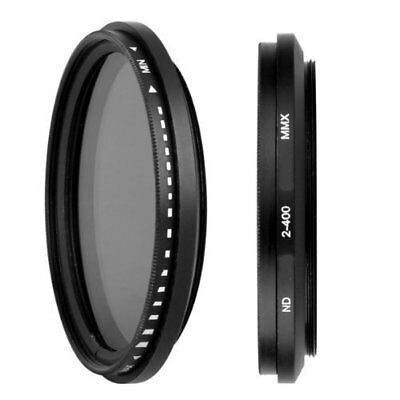 67 mm Filtro Fader ND densidad neutra ajustable ND2 ND4 ND8 A ND400
