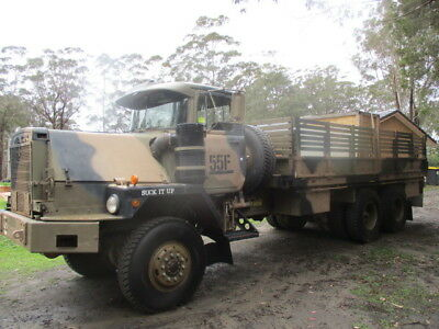 Mack R6x6 ex army truck 6 wheel drive 1984 excellent condition