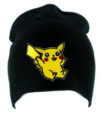 Pikachu Pokemon Go Bonnet Alternative Style Vêtements Chapeau Tricoté Gotta  Cran d59432732bd
