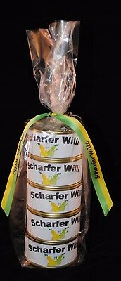 Scharfer Willi in der Dose Williams Christ Birne Schnaps Weihnachtsaktion