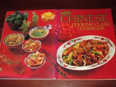WOMENS WEEKLY COOKBOOK CHINESE COOKING CLASS / RECIPES Chef Free Post