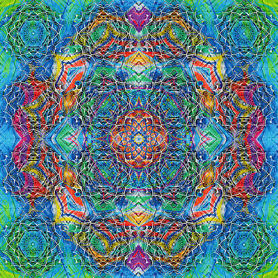 ॐॐॐॐॐ blotter art :: SACRED GEOMETRY ::   // FREE WORLDWIDE SHIPPING!! // ॐॐॐॐॐ