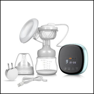Rechargeable Portable Electric Breastfeeding Milk Pump USB Breast Pumps -3 Modes