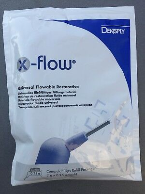 3 Pa. X-Flow A3, 16-er, Universal Flowable Restaurative, Dentsply
