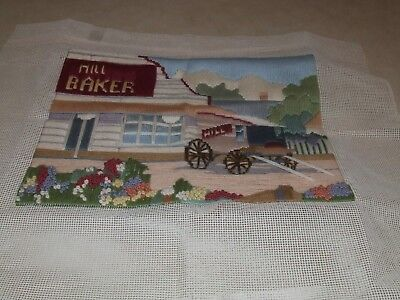 Long Stitch - Hill Baker - Completed