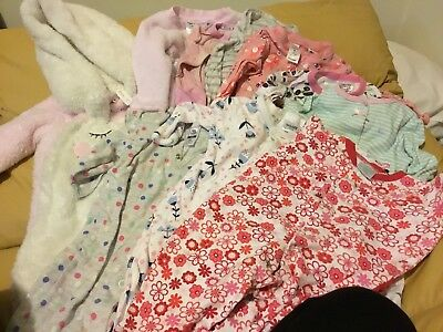Baby Girls Bodysuit Size 00 Bonds One Piece And More 10 Items