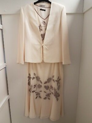 JACQUES VERT MOTHER OF THE BRIDE 3 piece suit size18