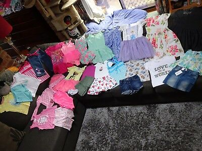 Bulk lot girls sz 3 summer clothes: Pumpkin Patch/Sista/Paw Patrol/Frozen dress