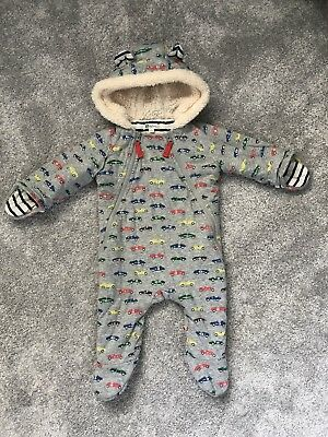 Mini Boden Snowsuit All In One 3-6 Months