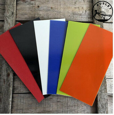 G10 Steel Sheet and Insulated Paper - 180mm x 80mm x 1mm