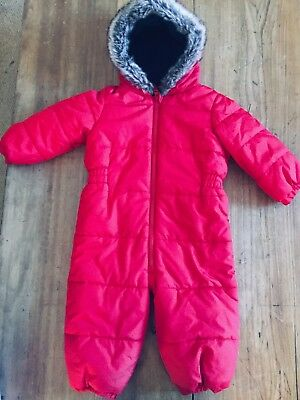 Red Snowsuit from NEXT 12-18 Months Months