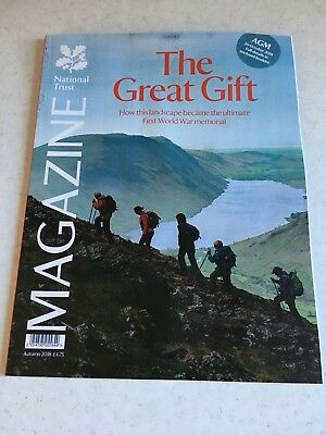 National Trust Magazine The Great Gift Autumn 2018