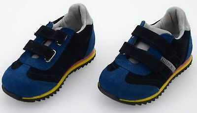 ecd66d4c12d Bikkembergs Junior Baby Boy Sneaker Shoes Casual Free Time Suede Code  Bkp102329